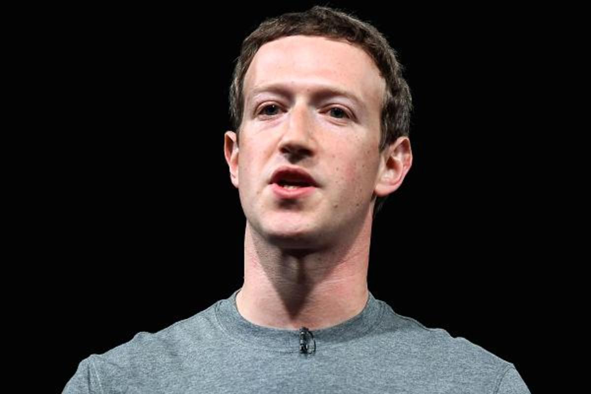 Chief Executive Officer of Facebook, Mark Zuckerberg
