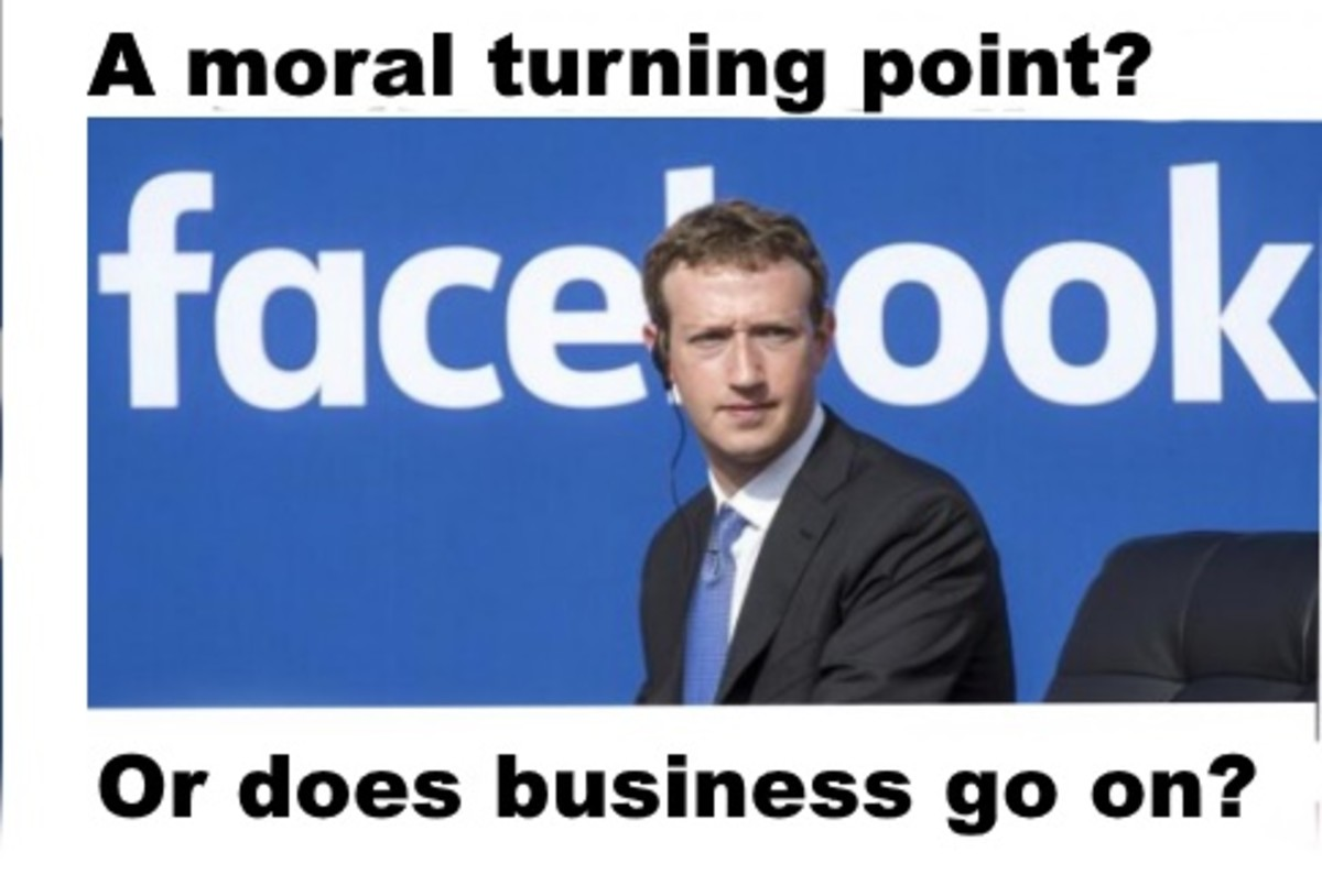 Essay: Why Zuckerberg  and Facebook had No Choice: The Problem with Advertising