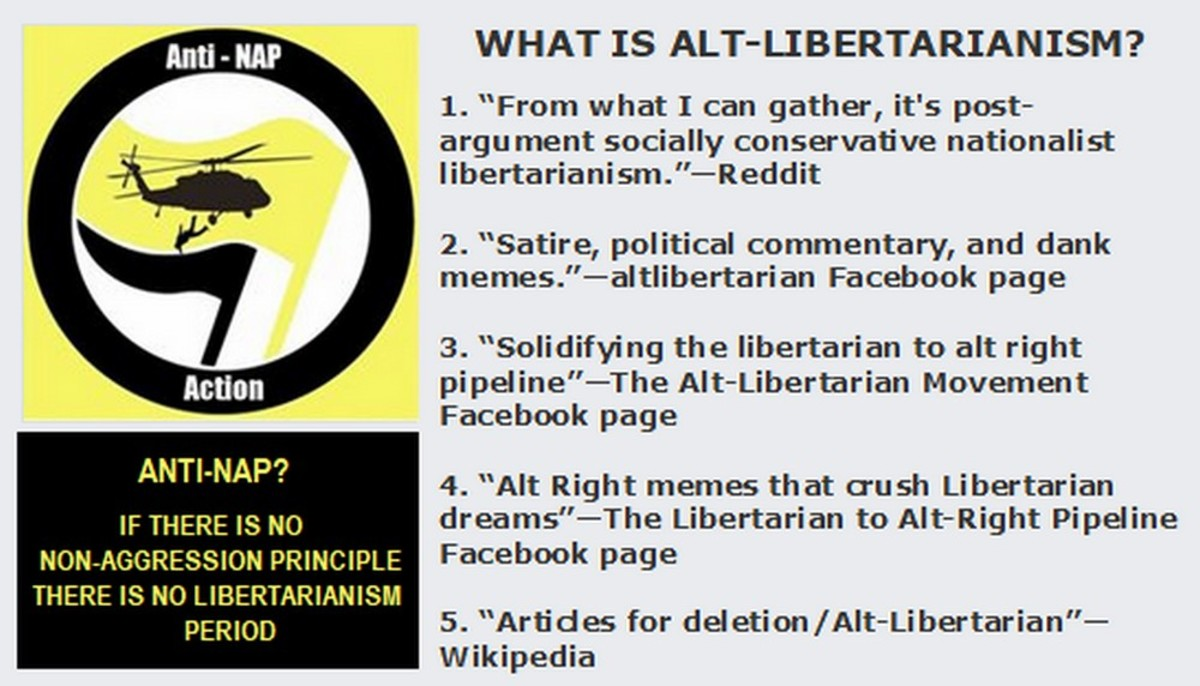 Alt-LiberARYANS: Going Over to the Dark Side