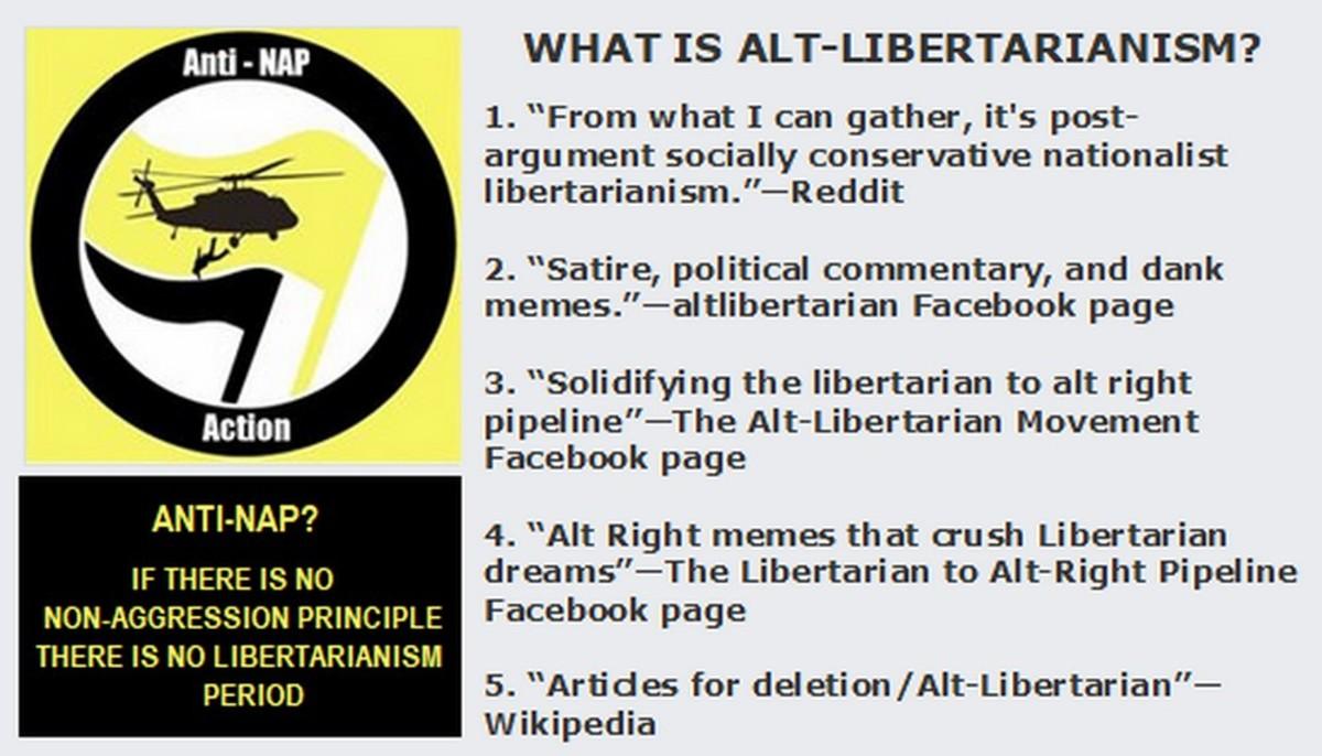 Alt-LiberARYANS: Going Over to the Dark Side
