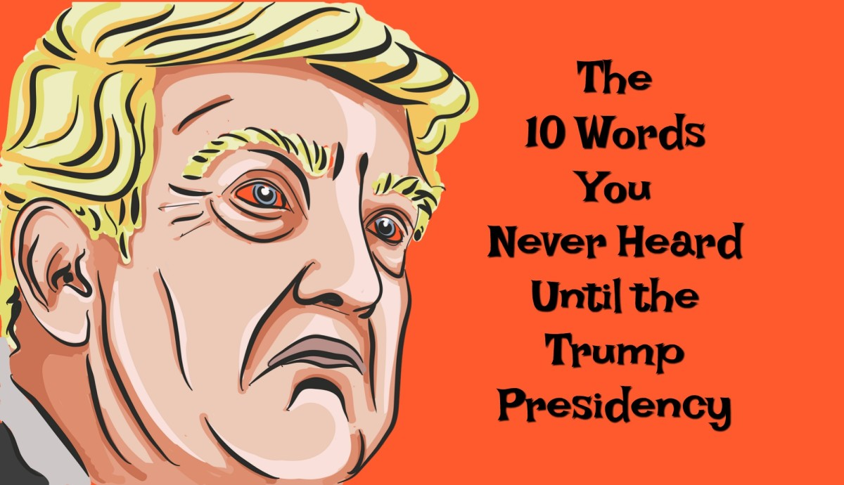 The 10 Words You Never Heard Until the Trump Presidency