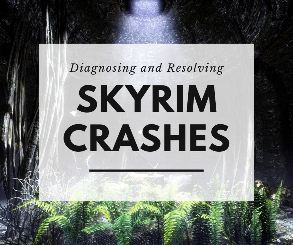 "Does your game keep crashing? Looking for a solution? Here are some common reasons why your ""Skyrim"" game is crashing . . . and what you can do about it."