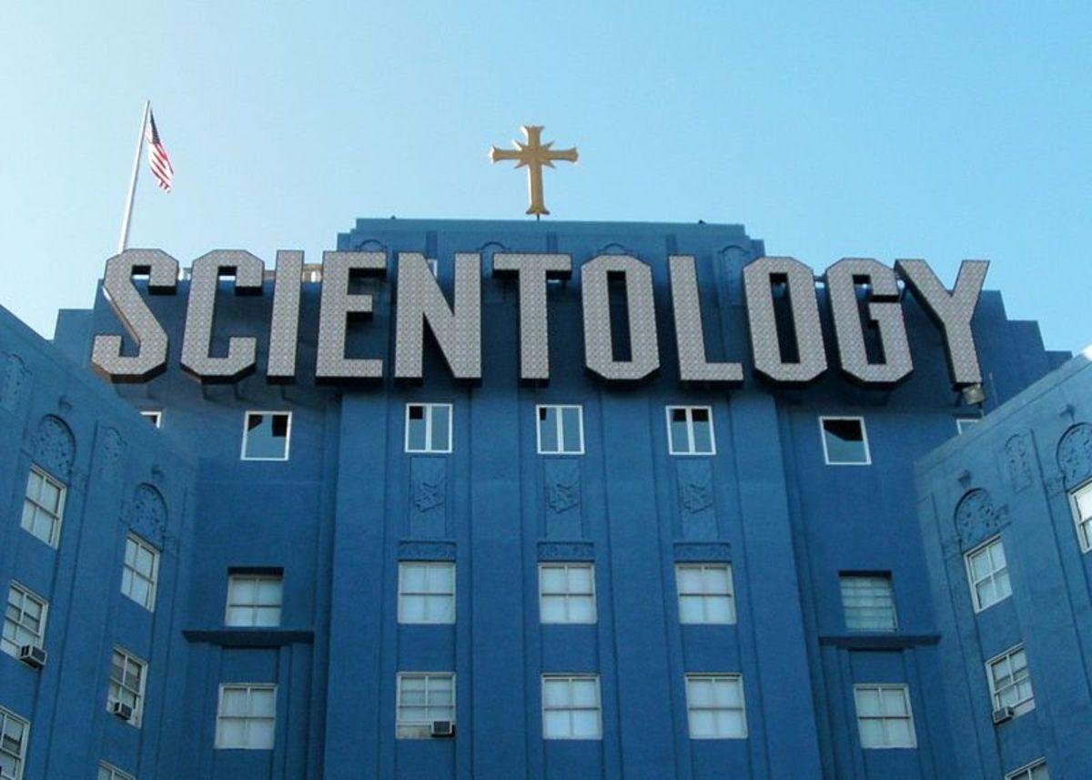 Scientology's corporate headquarters . . . errr . . . I mean church