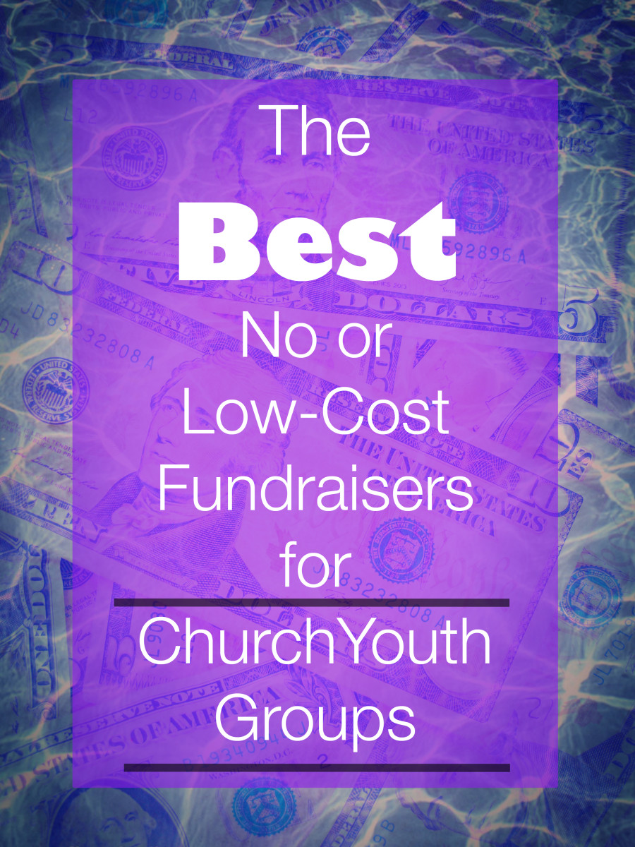 A list of the best no or low-cost fundraisers for church youth groups.