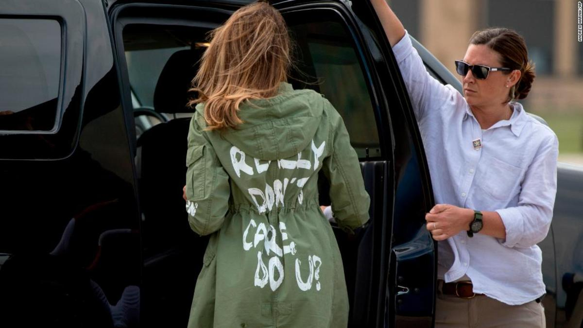 Would you wear this when visiting a shelter for migrant children?