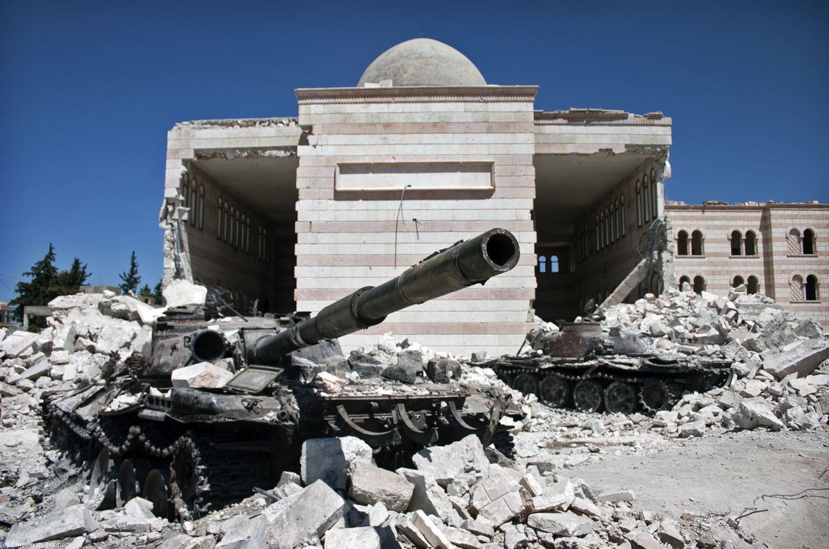 Syria Is Bleeding: The Horrendous Syrian Civil War