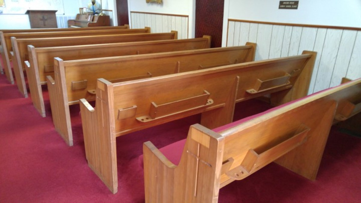 Where are the hymnals and Bibles that used to be in the back of the pews?