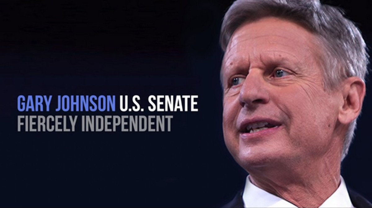 He's Baaack! Gary Johnson Is Running for U.S. Senate