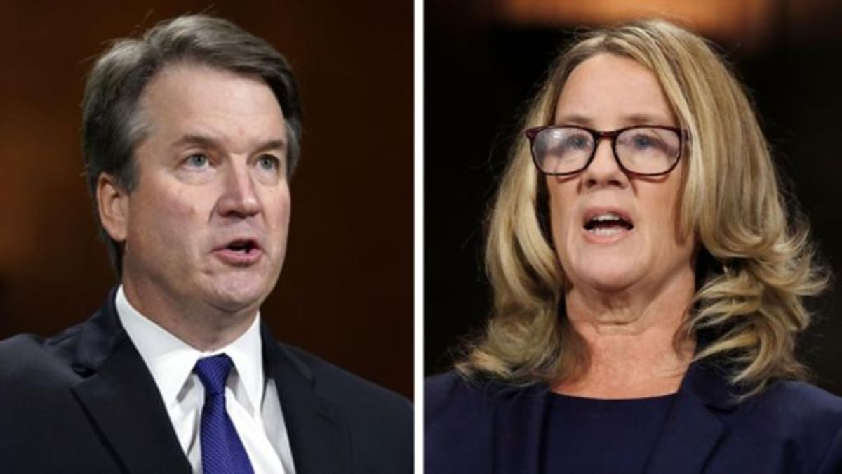 The New US Supreme Court Justice and Dr. Christine Blasey Ford