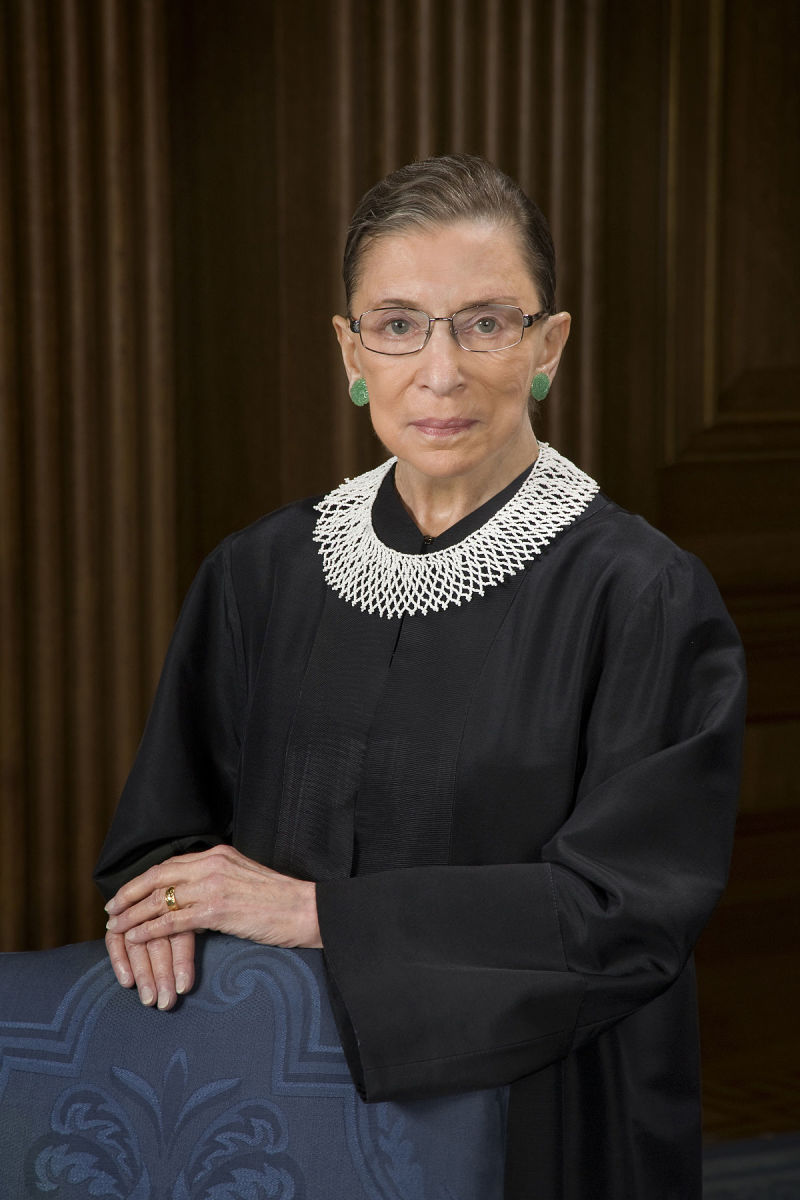 The Life of Ruth Bader Ginsburg:  Iconic Supreme Court Justice