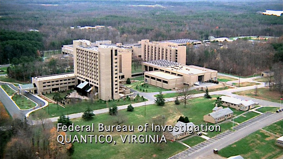 The FBI offices in Quantico, VA.