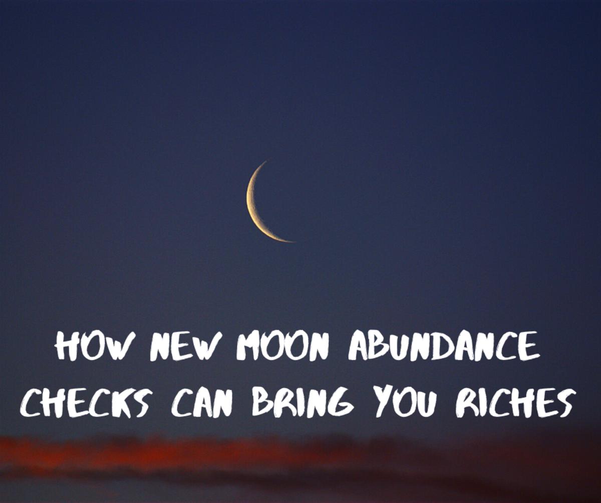 How New Moon Abundance Checks Can Bring You Riches