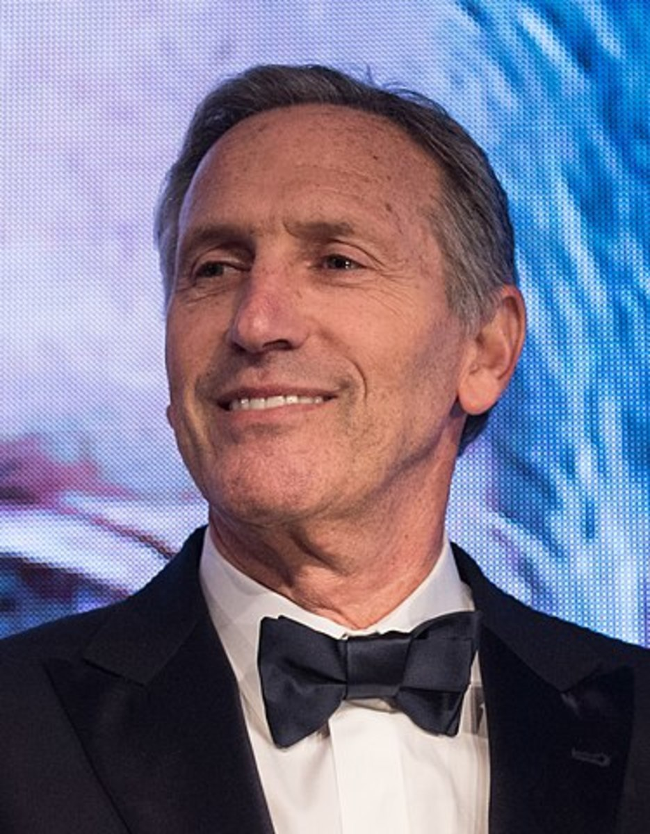 Is Howard Schultz Serious About Running for President?