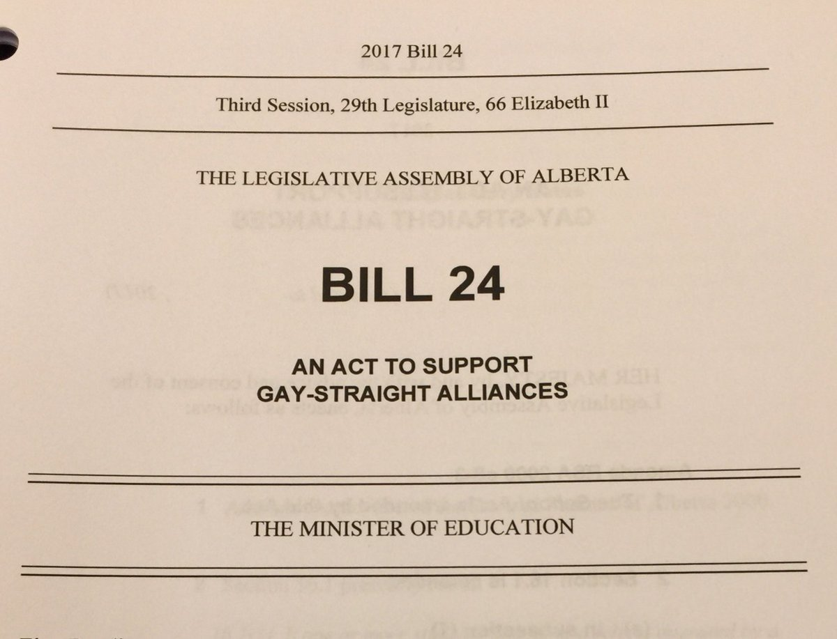 Alberta's Bill 24 Keeps Kids Safe: Jason Kenney, What Are You Thinking?