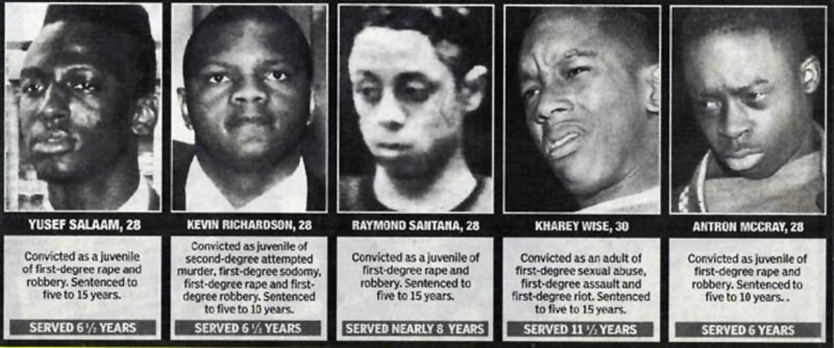 African American Parents: Prevent Central Park 5 From Repeating