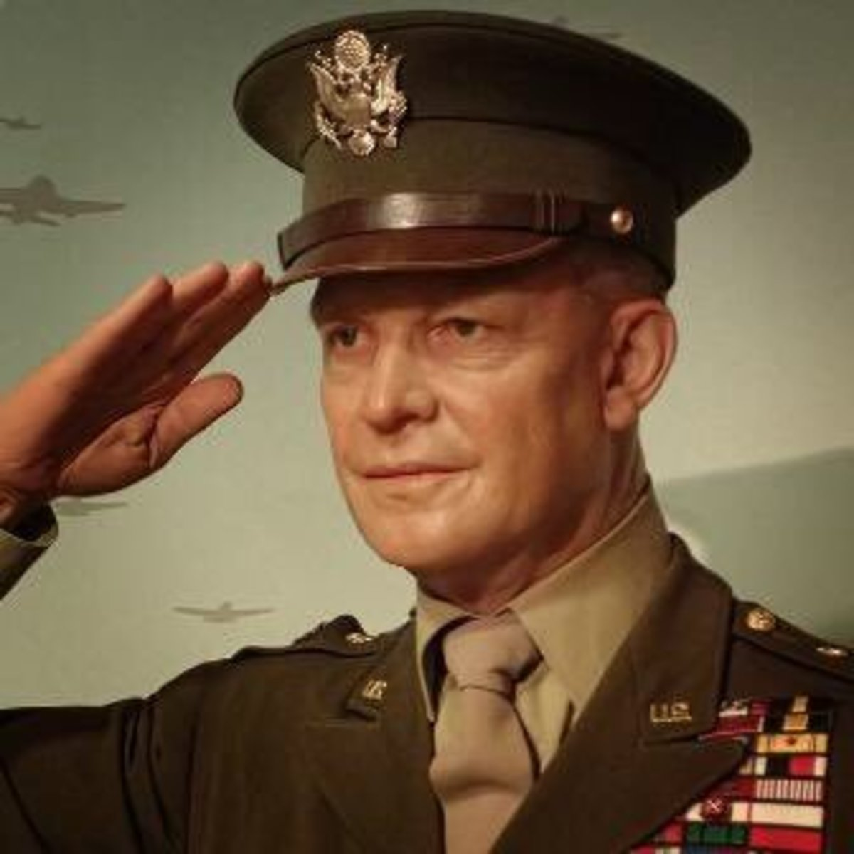 Army General Dwight D. Eisenhower, 34th President of United States