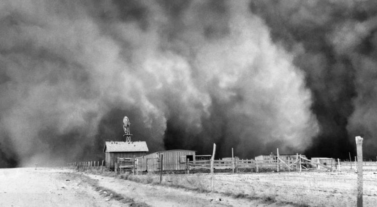 During the '30s, dust storms made life on the Great Plains difficult, to say the least.