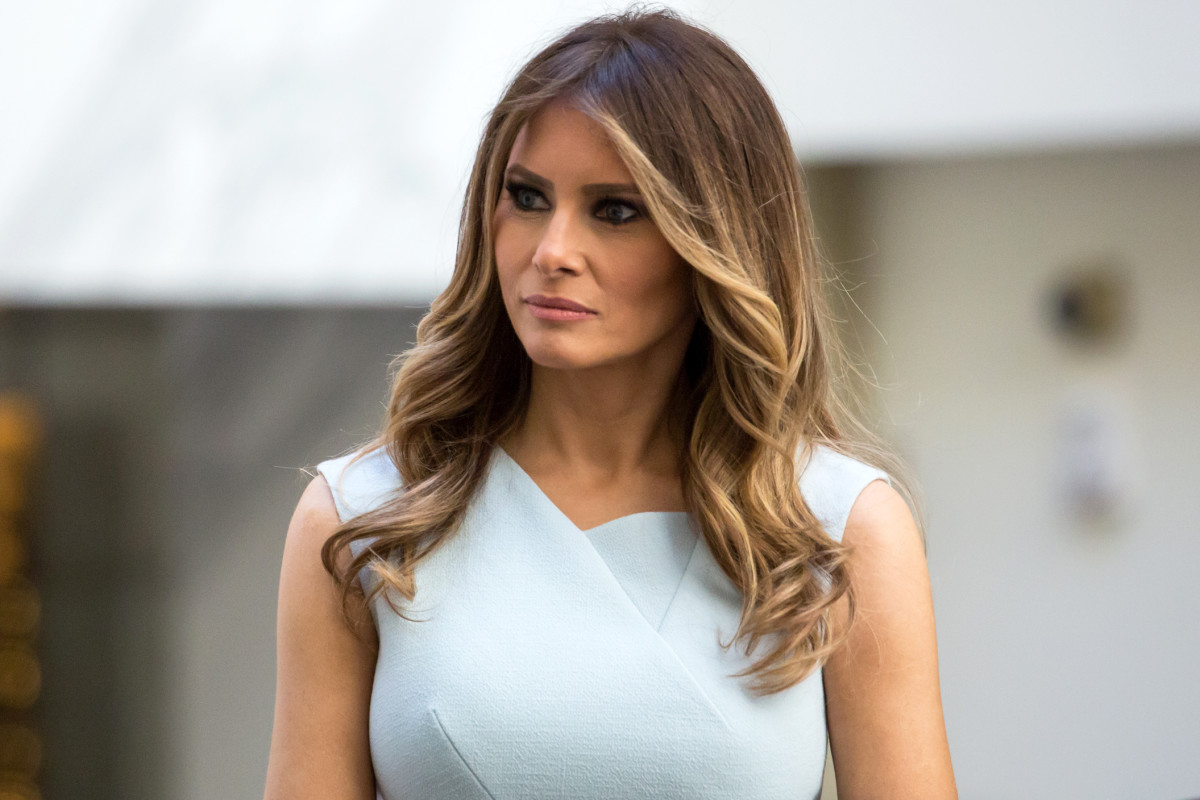Melenia Trump, the First Lady of the United States, got her green card through EB1