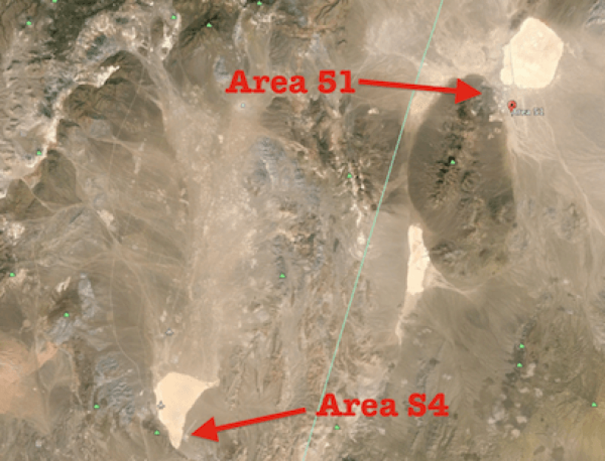 Area 51 and Area S4