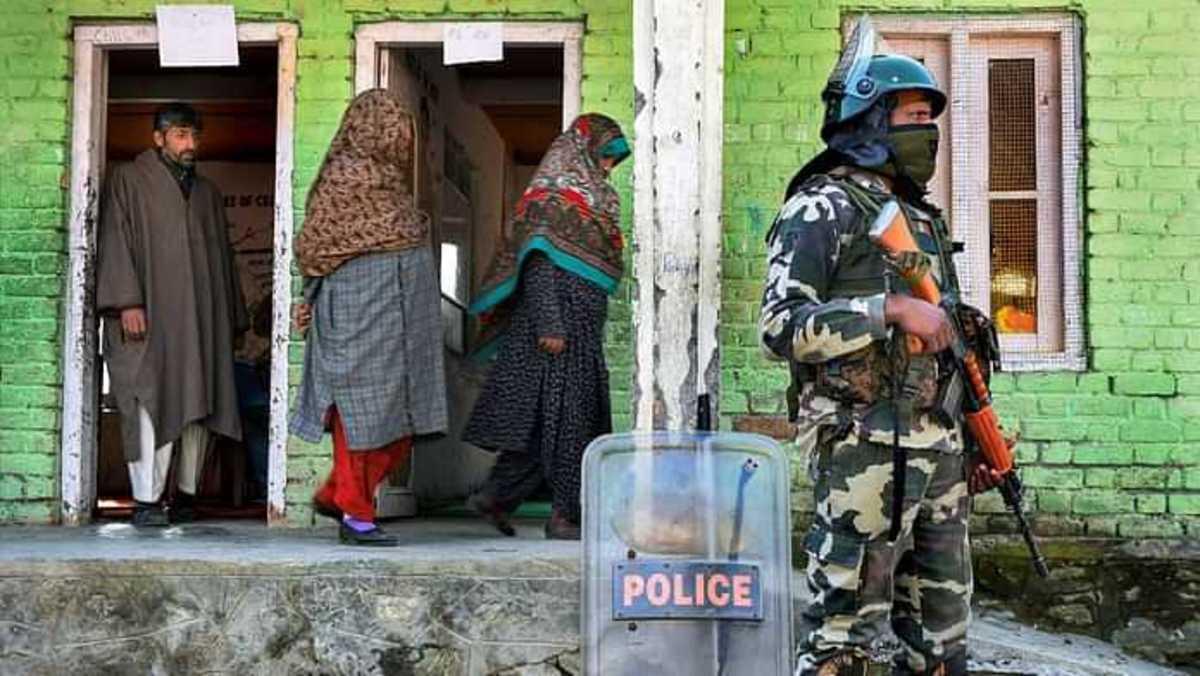 A scene from Kashmir.