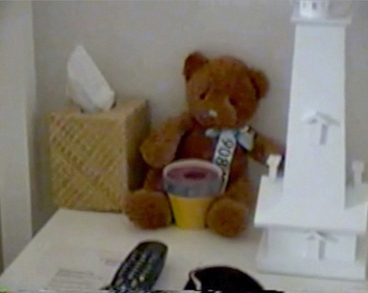 Image from inside Epstein's Palm Beach mansion obtained during 2005 police raid.