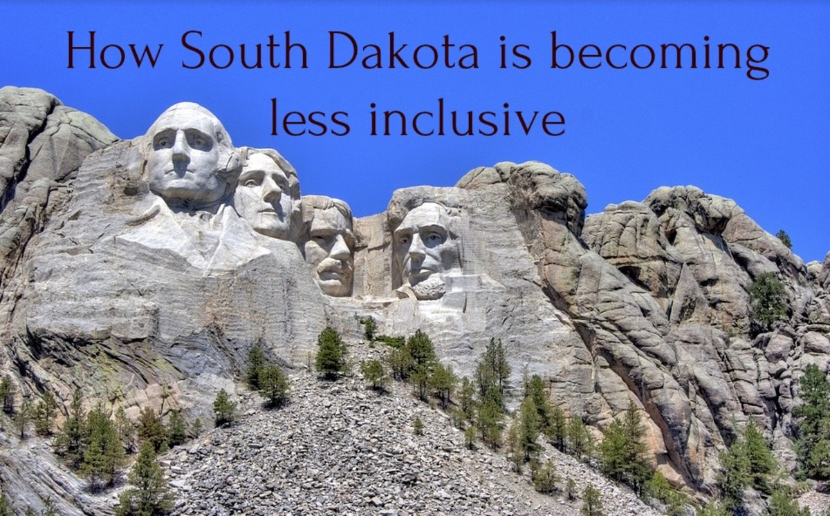 "South Dakota passed a law that required  ""In God We Trust"" be emblazoned at public schools. It was backed by a Christian Right group that seeks to marginalize those who are LGBTQ as well as the increasing number of folks who identify as nonreligious."