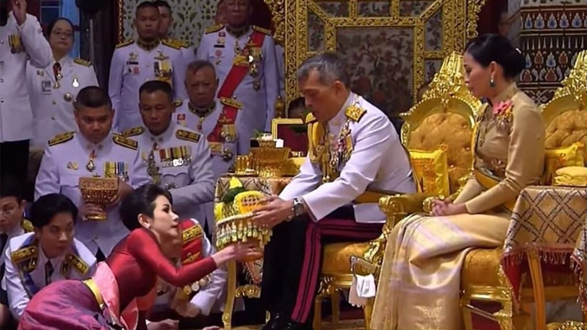 Thai Kings Missing Wife Spotted in Public After Scandal