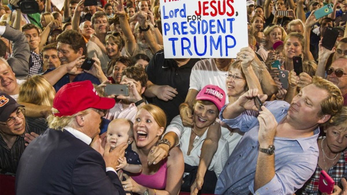 In the 2016 election, 81% of evangelical voters voted for Donald Trump.