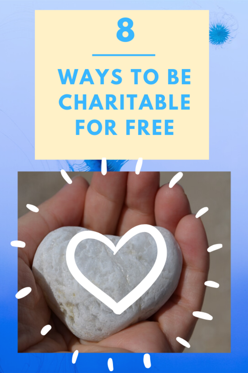 8 Ways to Be Charitable Without Spending Money