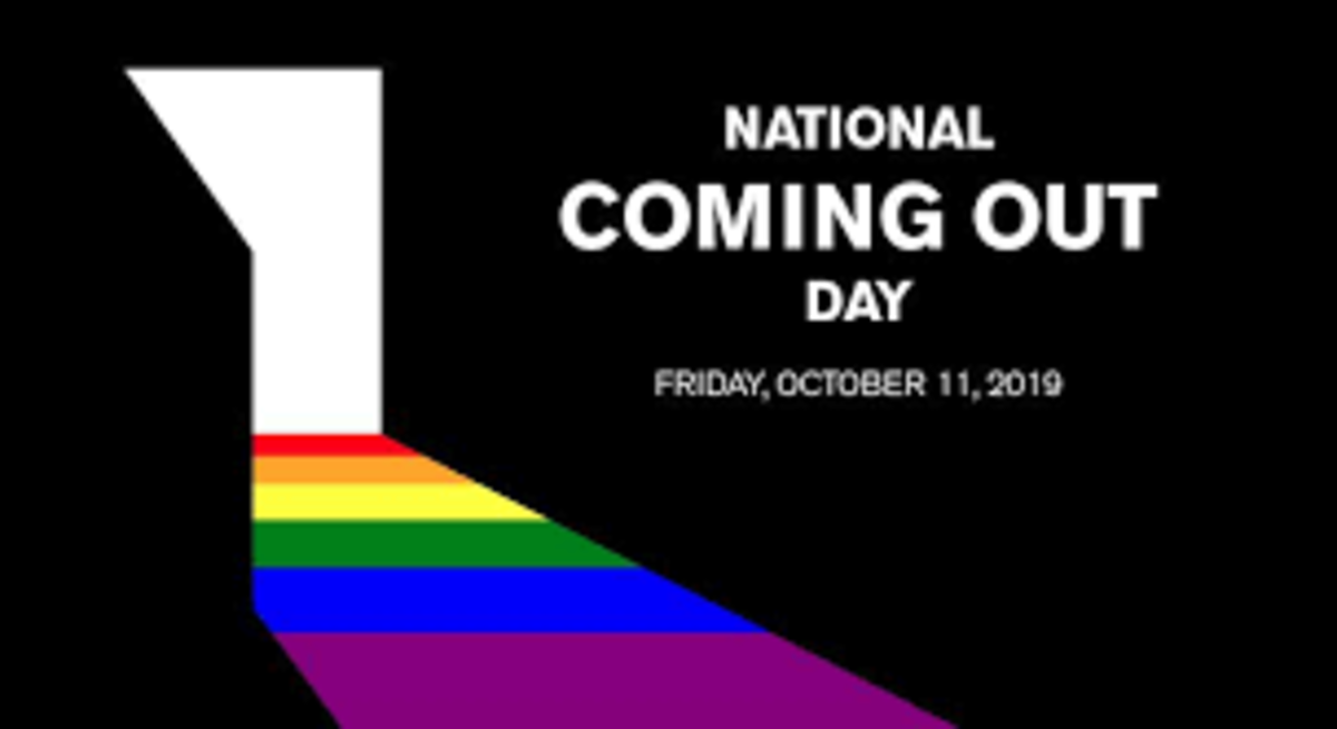 #NationalComingOutDay:  Yes, It Matters A Lot