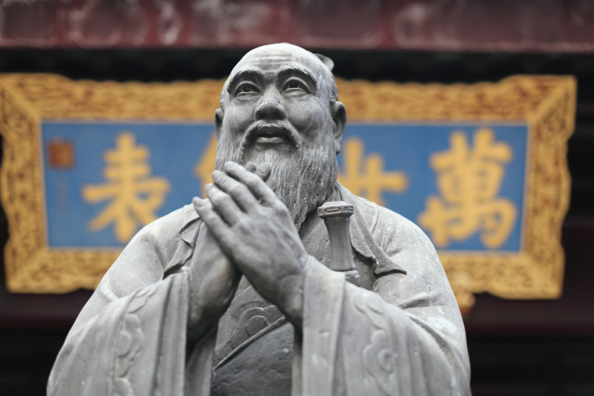 China's Great Wall Within: Confucius vs. Mao