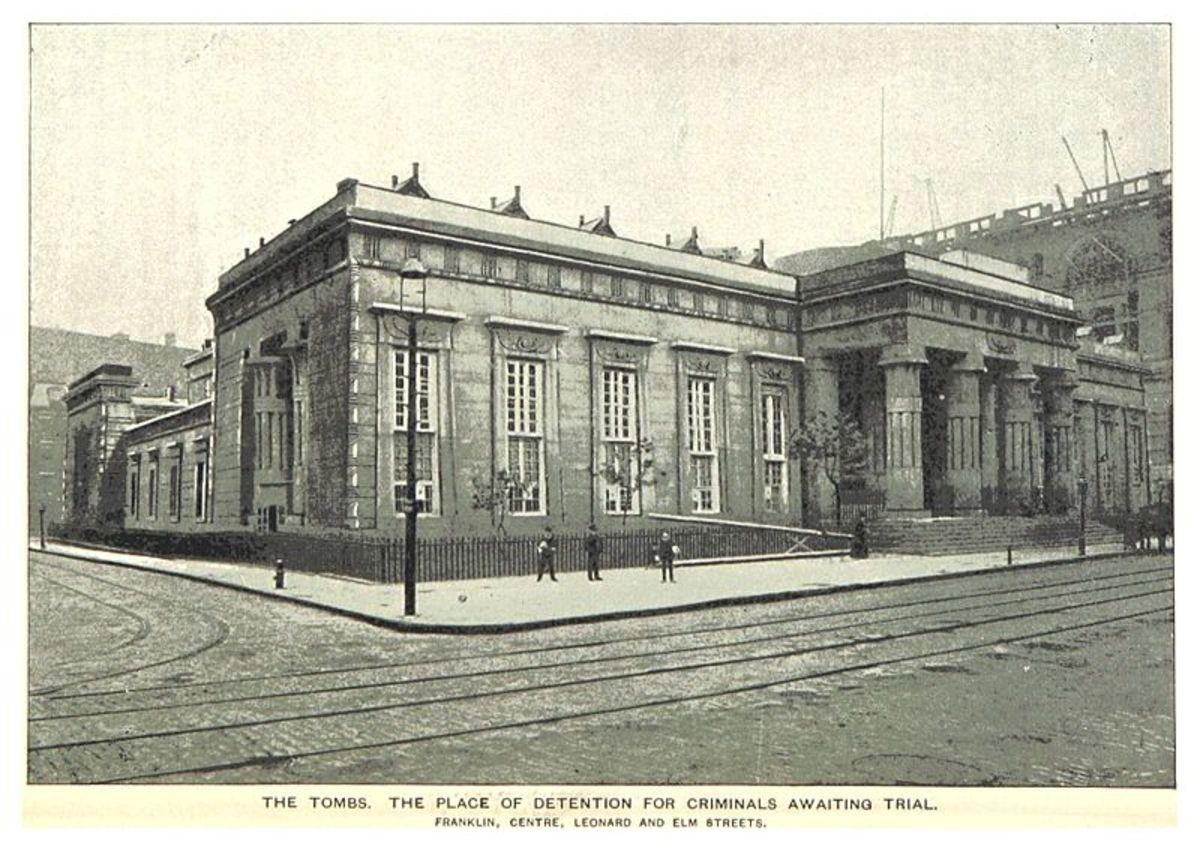 The original Tombs building.