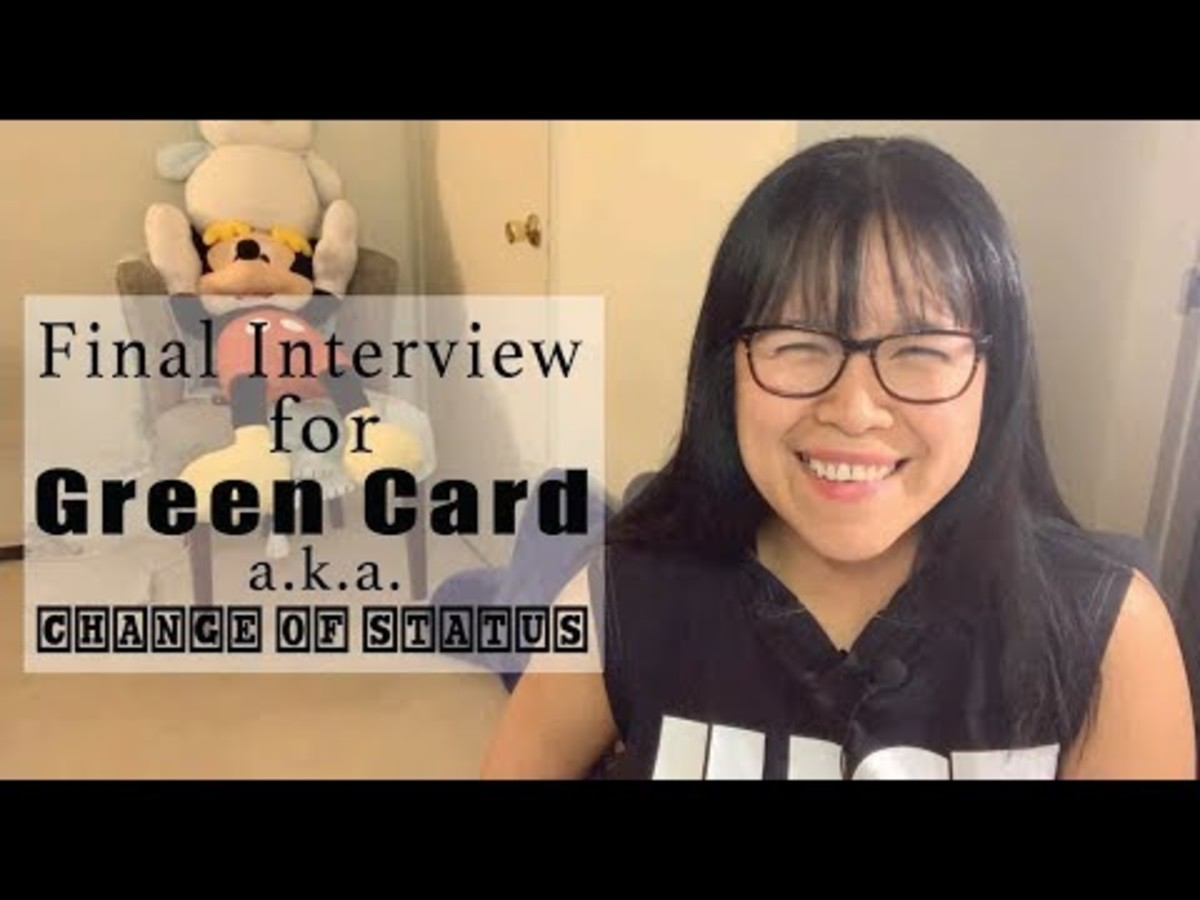 My Green Card Change of Status Interview Experience: Tips on What to Do on Your Green Card Final Interview