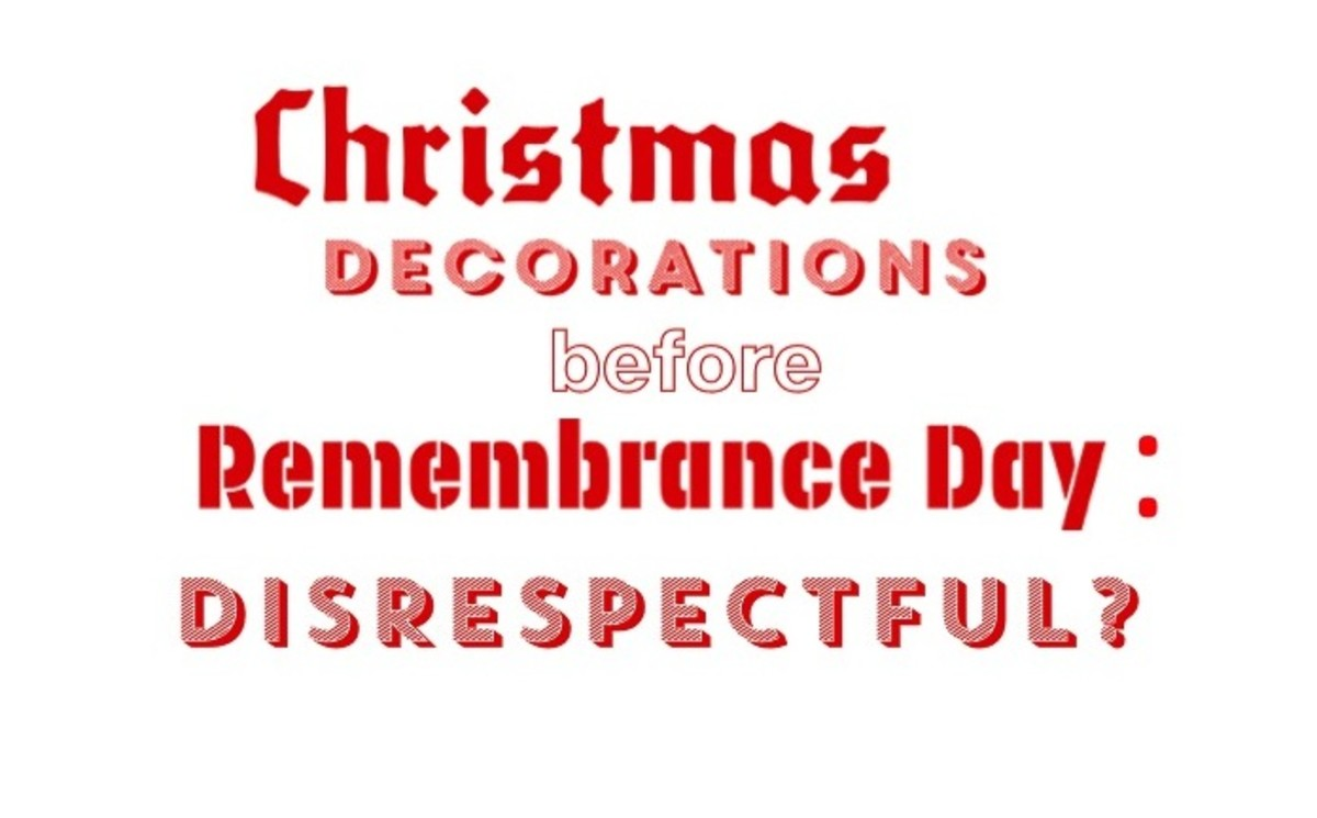 Remembrance Day Vs. Christmas:  There Is No Battle