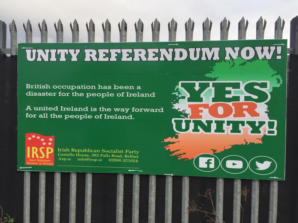 Advocates For Irish Reunification