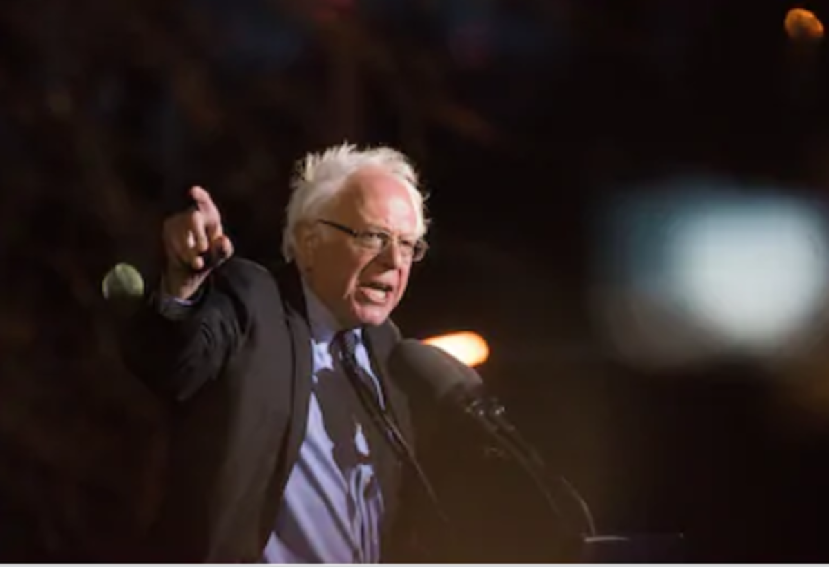 Bernie Sanders is one of two American presidential candidates who support a tax on accumulated wealth