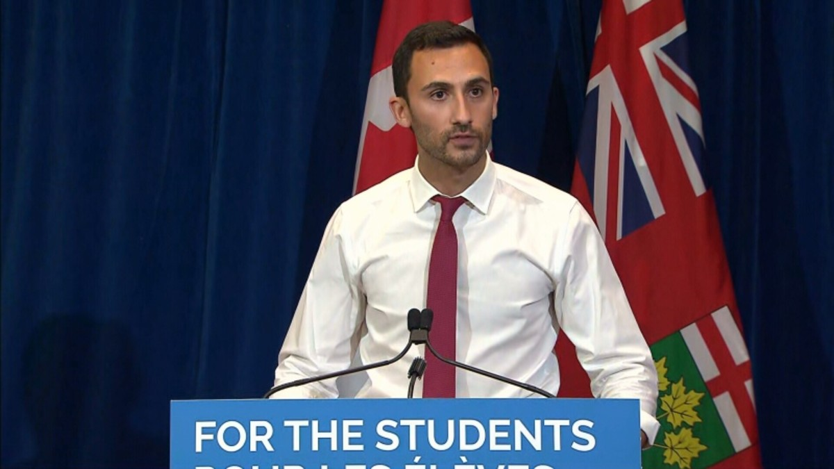 Ontario Education Minister Stephen Lecce