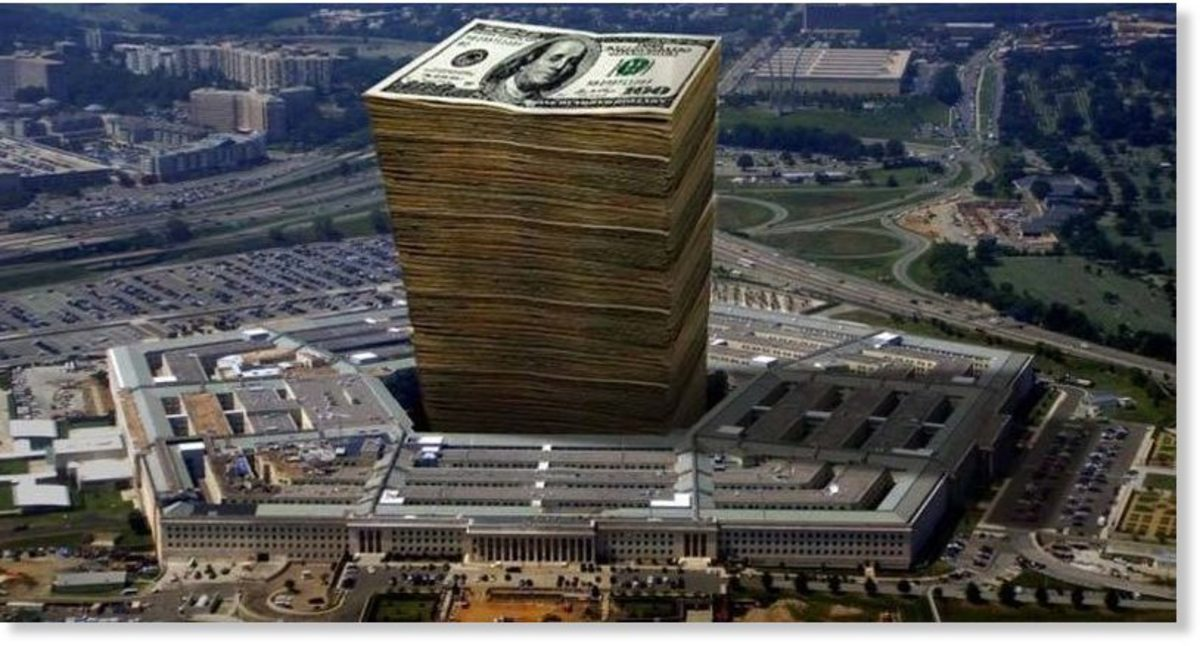 Pentagon Audit Shows $10 Trillion Unaccounted For, as Trump Attacks Sanders on