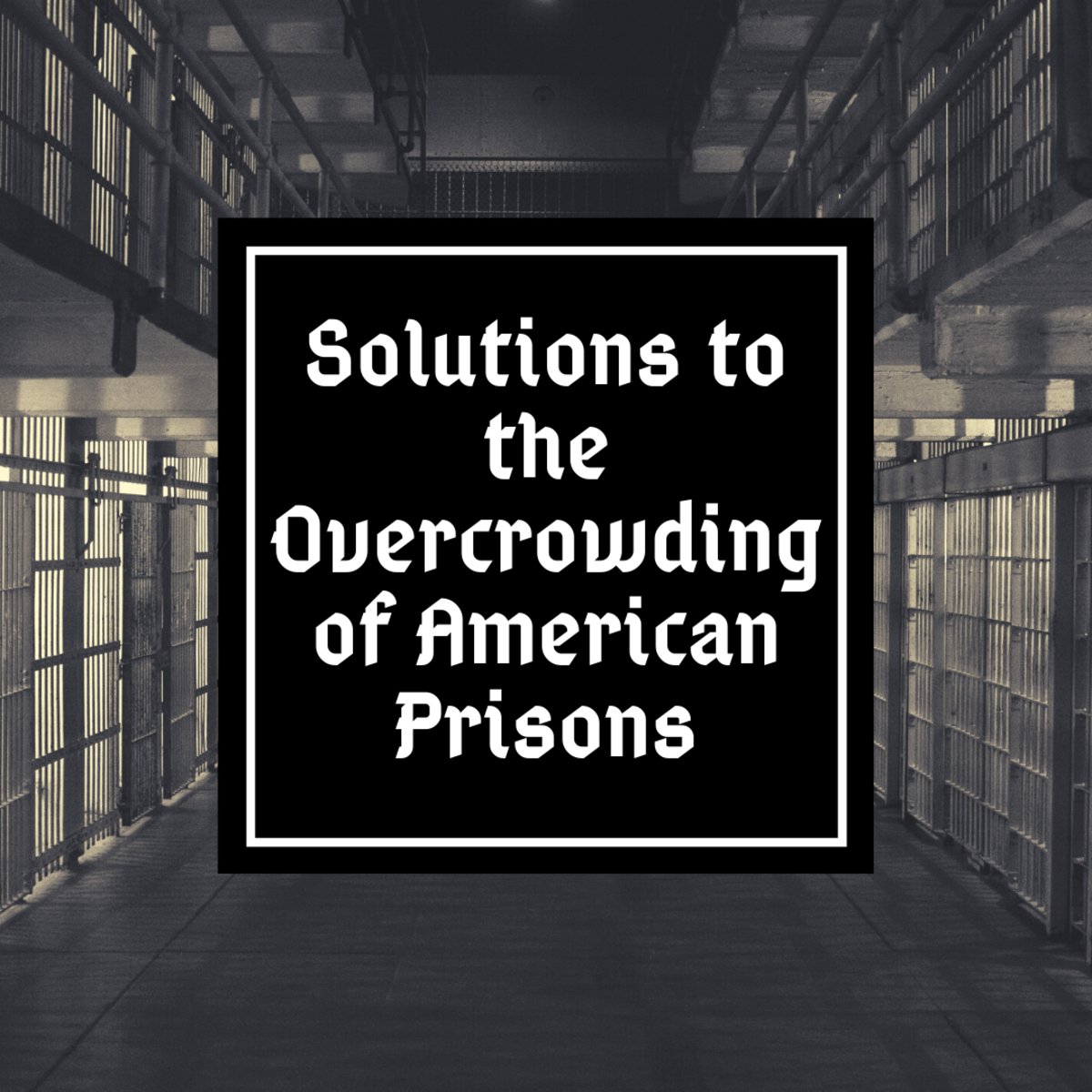 America has a serious prison problem, and we need to get serious about it.