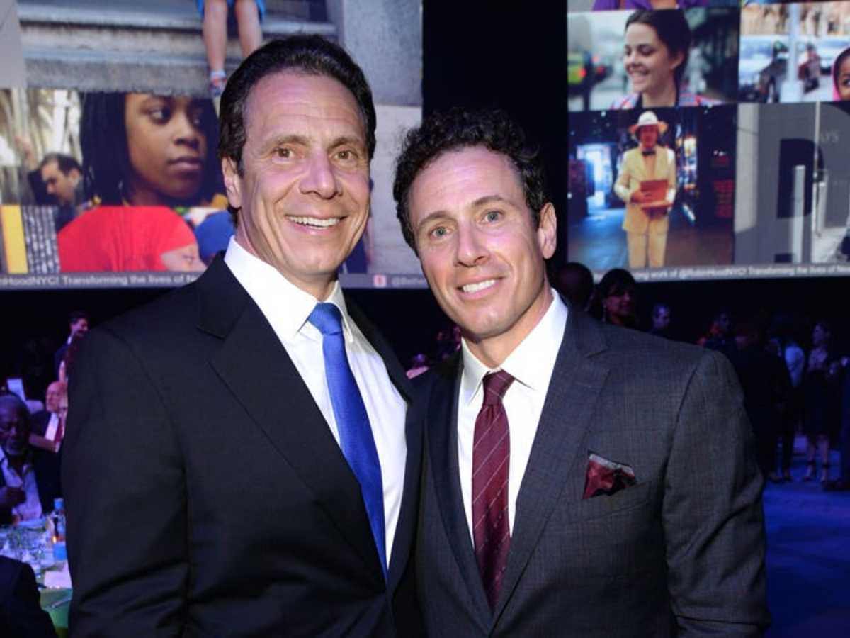 Brothers: New York Governor Andrew Cuomo and CNN Journalist Chris Cuomo