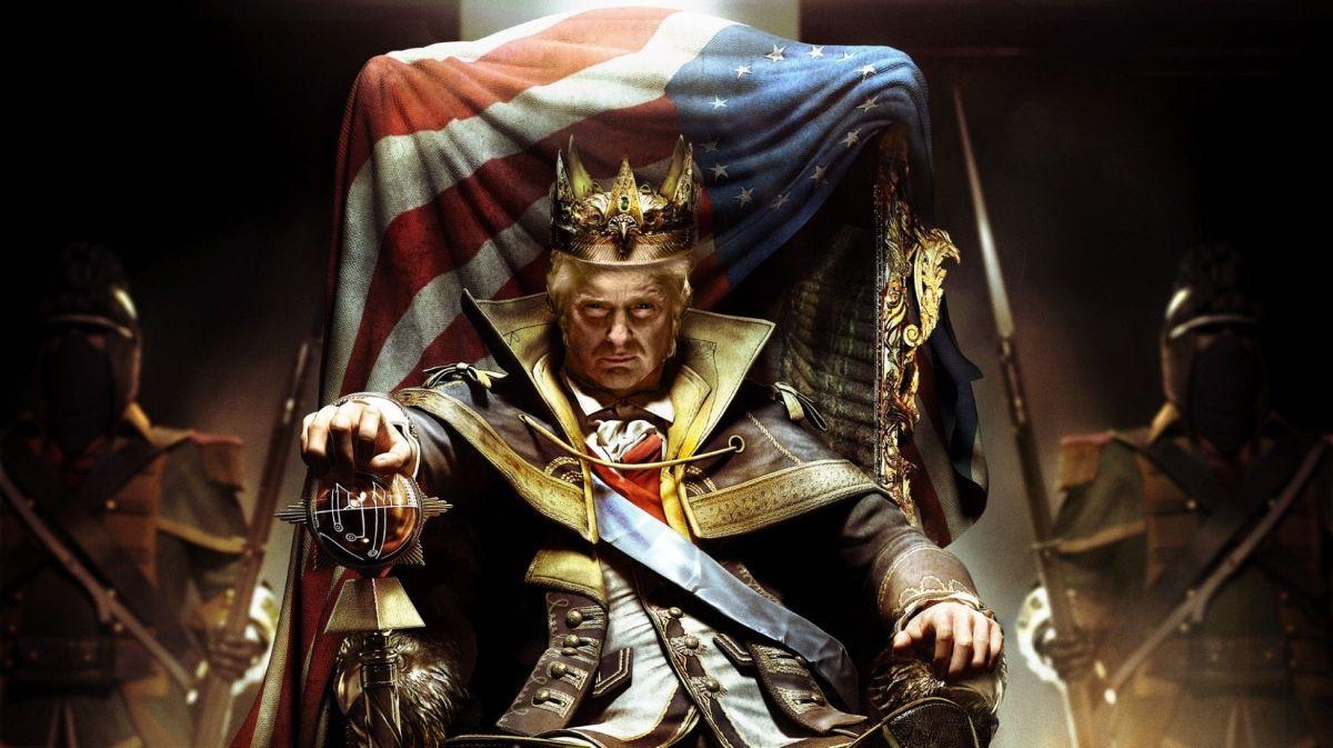 Trump Talk: The Modern Tragicomedy of America.