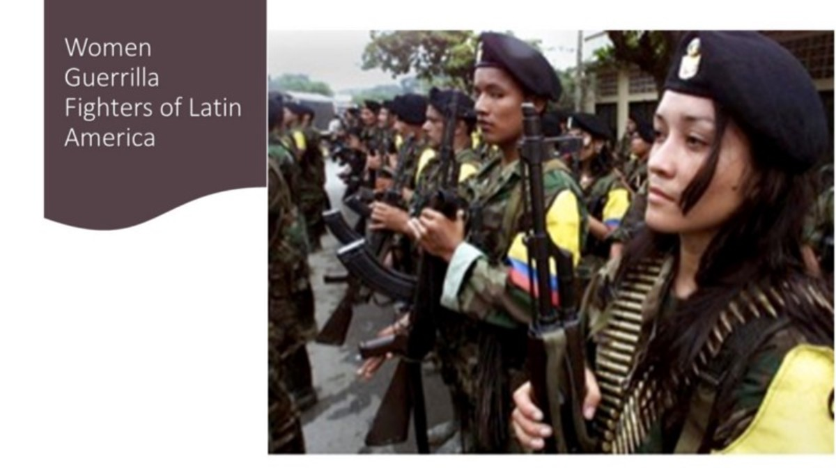 The Guerrilla Women of Latin America and the Five Countries Where They Fought
