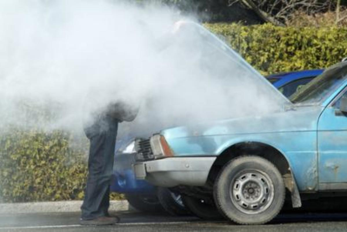 One of the most common signs you've got a blown head gasket: overheating
