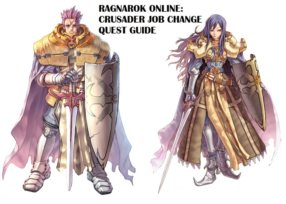 Ragnarok Online Crusader Job Change Quest Guide