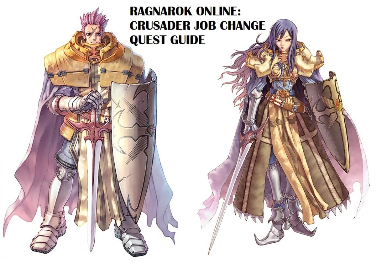 Ragnarok Online: Crusader Job Change Quest Guide