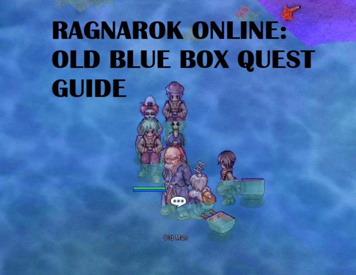 "Complete the Old Blue Box Quest easily by following along with this ""Ragnarok Online"" quest guide."