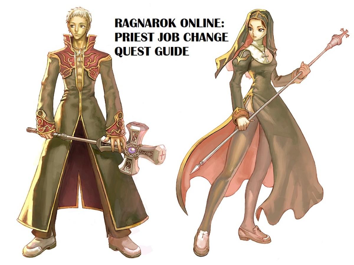 Ragnarok Online: Priest Job Change Quest Guide