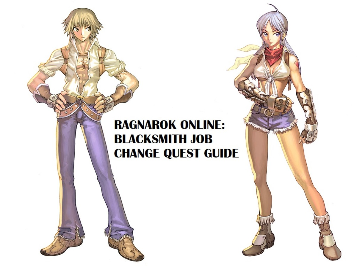 Ragnarok Online: Blacksmith Job Change Quest Guide