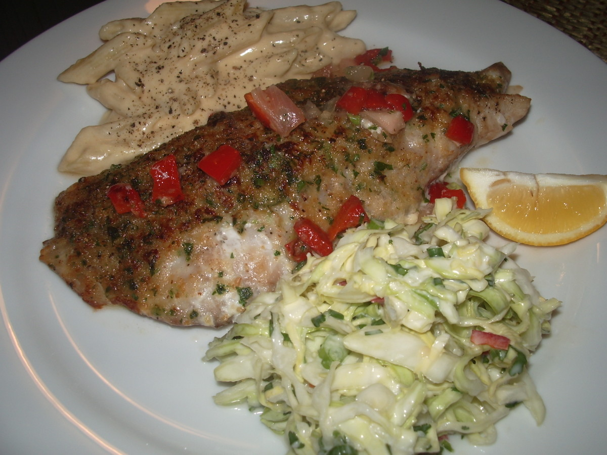 Elegant (and Easy) Baked Red Snapper