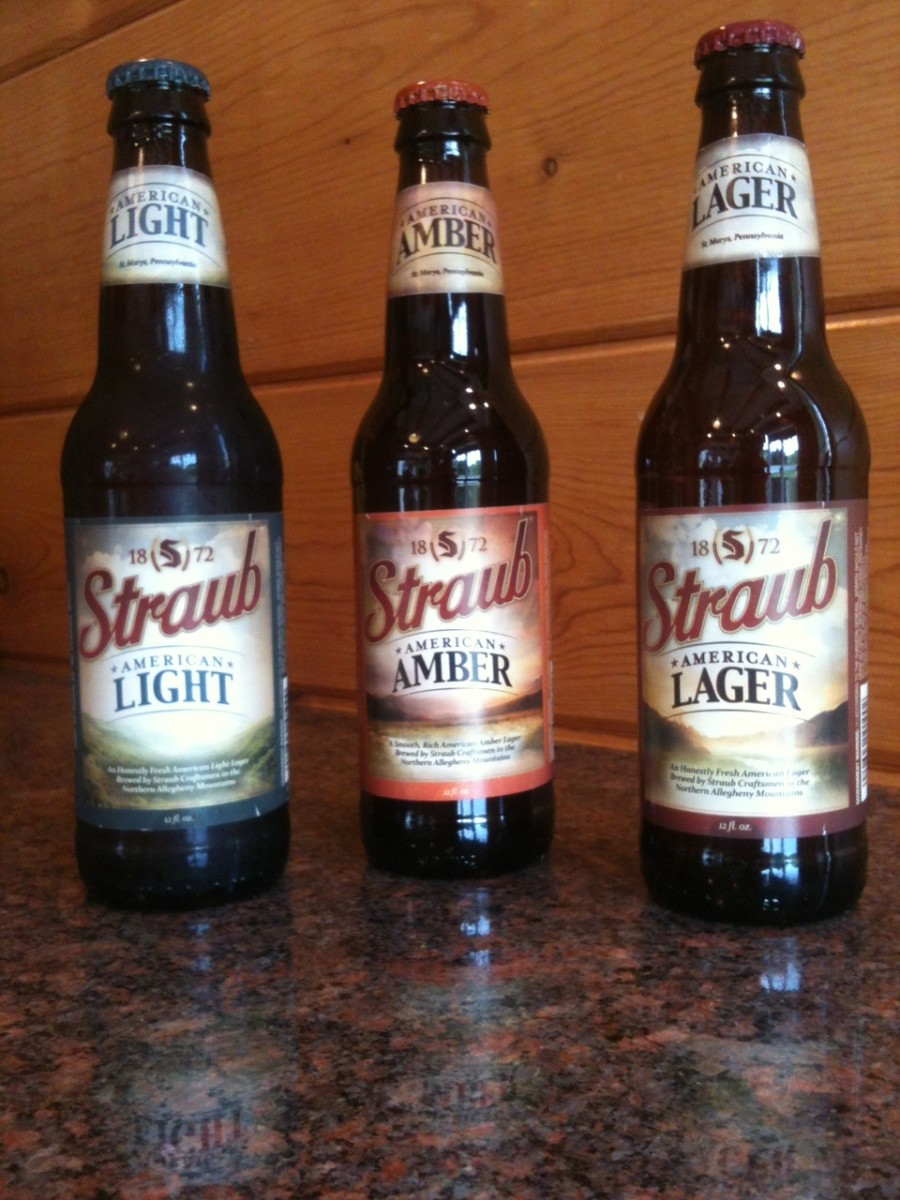 Straub Beer New Labels